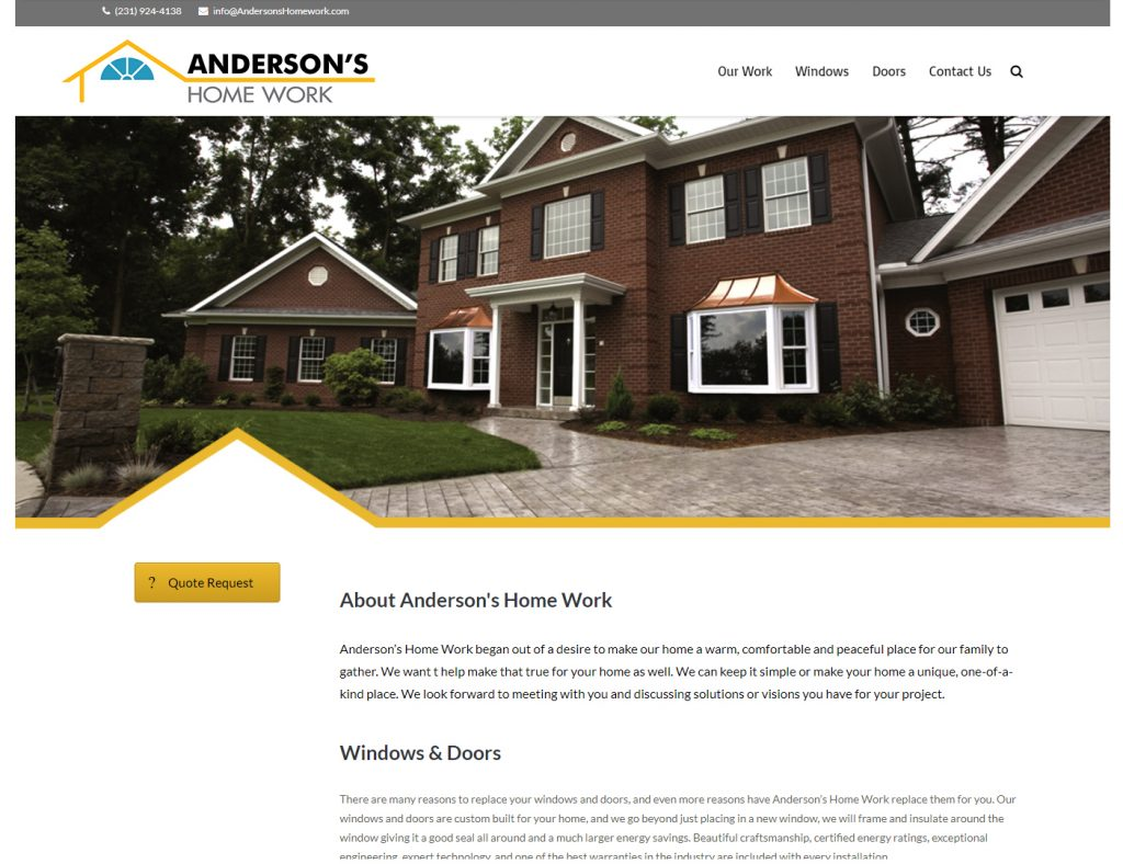 Anersons Home Work
